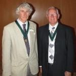 Mr Doug Grant (left) and Mr Peter Elliott (right)